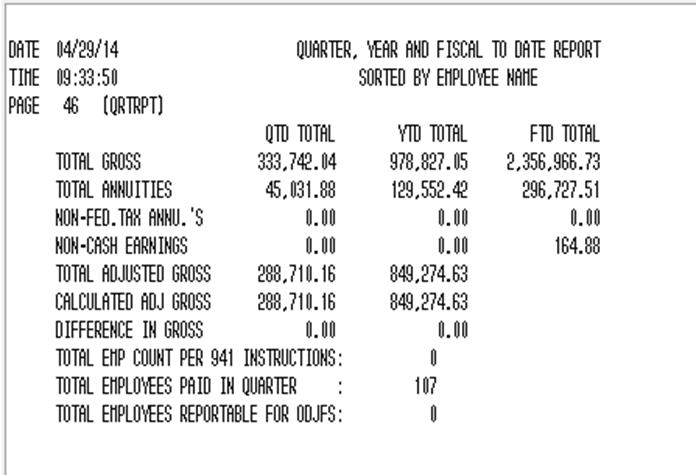 941 For 2016 >> Qrtrpt Breakdown Of Lines For The Totals And Form 941 Usps